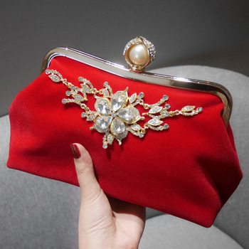 Red Wedding Party Evening Handbags/ Purses/ Clutches