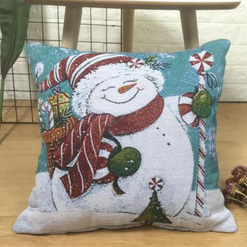 2018 Pillowcase Snowman Decorative 18