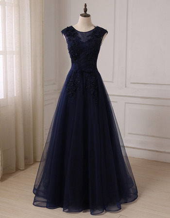 2019 New Style A-Line Floor Length Prom/ Party/ Formal Dresses