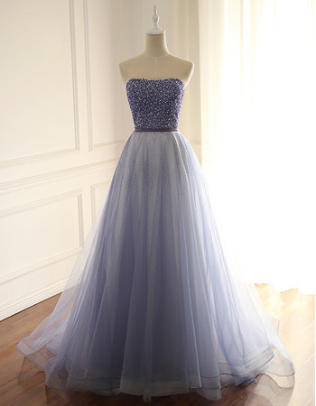 Elegant Strapless Beading Multi-Color Prom/ Party/ Formal Dresses
