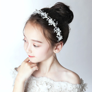 Flower Girl Hoop Headband Hairband Headwear for Wedding