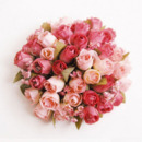 Victoria-style Villatic Silk Table Flower