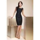 Sheath/ Column Square Knee-Length Taffeta Bridesmaid/ Little Black/ Wedding Party/ Homecoming Dress