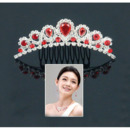 Alloy With Zircon Bridal Wedding Tiara