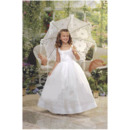 2018 Stunning Ball Gown Full Length Taffeta First Communion Dresses