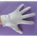 Wrist Elastic Satin White Flower Girl/ First Communion Gloves