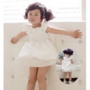Inexpensive Ball Gown Short Satin Flower Girl Dresses