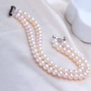 Classic White 5.5 - 6.5mm Freshwater Off-Round Bridal Pearl Bracelet