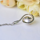 Gorgeous White Off-Round 11.5-12mm Freshwater Natural Pearl Pendants