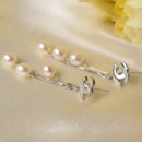 Chic White Drop 6.5-7mm Freshwater Natural Pearl Earring Set