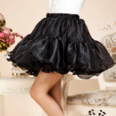 Cute Party Black Organza Mini Tutus/ Skirts/ Wedding Petticoats