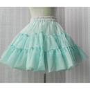 Girls' Cute A-Line Mesh Mini Skirts/ Wedding Petticoats