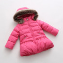 2018 Girls Kids Winter Hooded Long Down Coats/ Jackets/ Snowsuits