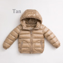 Fashion Boys Kids Winter Hooded Solid Down Coats/ Jackets/ Snowsuits
