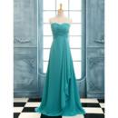 Affordable A-Line Sweetheart Floor Length Chiffon Bridesmaid Dresses