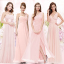 Elegant Floor Length Chiffon Bridesmaid/ Wedding Party Dresses
