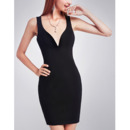 Sexy Sheath Sweetheart Short Black Homecoming/ Little Black Dresses