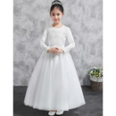 Communion Dresses With Sleeves