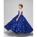 Long Little Girls Party Dresses