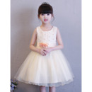 Adorable Ball Gown Mini/ Short Flower Girl Dresses for Wedding