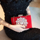 Jewel Red Wedding Party Evening Handbags/ Purses/ Clutches