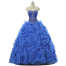 2019 New Ball Gown Sweetheart Floor Length Prom/ Quinceanera Dresses