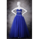 Custom Sweetheart Floor Length Prom/ Party/ Quinceanera Dresses