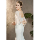 Long Lace Wedding Dresses
