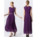 Long Chiffon Evening Dresses