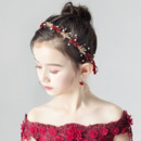 Flower Kids Girls Hoop Hairband Headband Hair Accessory for Wedding