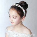 Flower Girl Rhinestone Hoop Headband Hair Accessory for Wedding