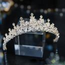 Alloy with Rhinestone Wedding Tiara/ Headpieces for Brides
