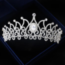 Alloy with Rhinestone Wedding Tiara/ Headpieces for Brides