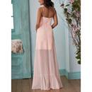 Long Chiffon Bridesmaid Dresses